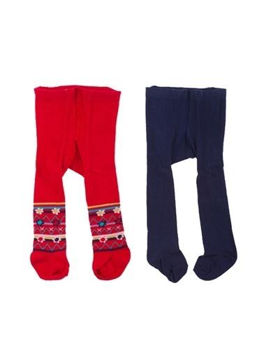 Tuc Tuc Külotlu Çorap Kırmızı